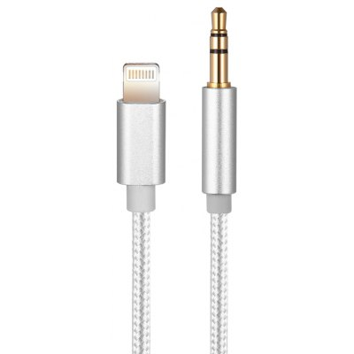 3.5mm to 8 Pin Car Audio Cable
