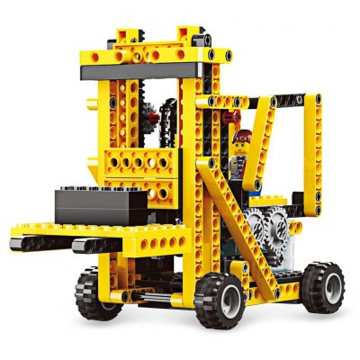 4 in 1 DIY Mechanical Theme Educational 3D Puzzle