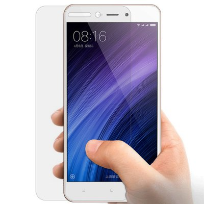 Luanke Tempered Glass Protective Film for Xiaomi Redmi 4AScreen Protectors<br>Luanke Tempered Glass Protective Film for Xiaomi Redmi 4A<br><br>Brand: Luanke<br>Compatible Model: Redmi 4A<br>Features: Ultra thin, High-definition, High Transparency, High sensitivity, Anti-oil, Anti scratch, Anti fingerprint<br>Mainly Compatible with: Xiaomi<br>Material: Tempered Glass<br>Package Contents: 1 x Tempered Glass Film, 1 x Dust Remover, 1 x Wet Wipes, 1 x Dry Wipes<br>Package size (L x W x H): 20.00 x 13.20 x 2.00 cm / 7.87 x 5.2 x 0.79 inches<br>Package weight: 0.1230 kg<br>Product Size(L x W x H): 13.60 x 6.60 x 0.03 cm / 5.35 x 2.6 x 0.01 inches<br>Product weight: 0.0090 kg<br>Surface Hardness: 9H<br>Thickness: 0.26mm<br>Type: Screen Protector