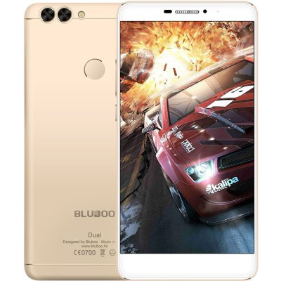 gearbest BLUBOO Dual MTK6737T 1.5GHz 4コア GOLDEN(ゴールデン)