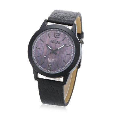 Original Miler 83127 Neutral Quartz Watch with Black BandUnisex Watches<br>Original Miler 83127 Neutral Quartz Watch with Black Band<br><br>Brand: Miler<br>People: Female table,Male table<br>Watch style: Casual,Classic<br>Shape of the dial: Round<br>Movement type: Quartz watch<br>Display type: Analog<br>Case material: Alloy<br>Band material: Leather<br>Clasp type: Pin buckle<br>Dial size: 4 x 4 x 0.8cm / 1.57 x 1.57 x 0.31 inches<br>Band size: 24 x 1.9cm / 9.45 x 0.75 inches<br>Wearable length: 18 - 22cm / 7.09 - 8.66 inches<br>Product weight: 0.037 kg<br>Package weight: 0.057 kg<br>Product size (L x W x H): 24.00 x 4.00 x 0.80 cm / 9.45 x 1.57 x 0.31 inches<br>Package size (L x W x H): 25.00 x 5.00 x 1.80 cm / 9.84 x 1.97 x 0.71 inches<br>Package Contents: 1 x Miler 83127 Neutral Quartz Watch