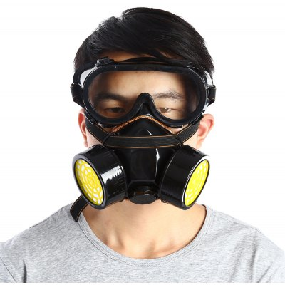 Antigas Double Filter Gas Protection Mask