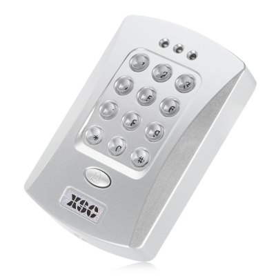 XSC RFID Access Control System Security MachineAccess Control<br>XSC RFID Access Control System Security Machine<br><br>Brand: XSC<br>Feature: Waterproof<br>Package Contents: 1 x XSC Access Control System, 5 x ID Buckle Card, 1 x English User Manual, 1 x Chinese User Manual, 3 x Screw, 3 x Screw Cap, 3 x Cable<br>Package size (L x W x H): 16.00 x 14.00 x 4.00 cm / 6.3 x 5.51 x 1.57 inches<br>Package weight: 0.233 kg<br>Product size (L x W x H): 12.00 x 7.50 x 3.00 cm / 4.72 x 2.95 x 1.18 inches<br>Product weight: 0.110 kg<br>Type ( Access Control ): Access Control Systems