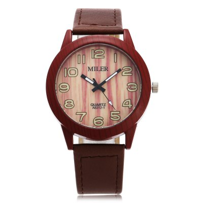 Original Miler 83121 Neutral Quartz Watch with Leather BandUnisex Watches<br>Original Miler 83121 Neutral Quartz Watch with Leather Band<br><br>Band material: Leather<br>Band size: 24.5 x 1.9cm / 9.65 x 0.75 inches<br>Brand: Miler<br>Case material: Alloy<br>Clasp type: Pin buckle<br>Dial size: 4 x 4 x 0.9cm / 1.57 x 1.57 x 0.35 inches<br>Display type: Analog<br>Movement type: Quartz watch<br>Package Contents: 1 x Miler 83121 Neutral Quartz Watch<br>Package size (L x W x H): 25.50 x 5.00 x 1.90 cm / 10.04 x 1.97 x 0.75 inches<br>Package weight: 0.058 kg<br>People: Female table,Male table<br>Product size (L x W x H): 24.50 x 4.00 x 0.90 cm / 9.65 x 1.57 x 0.35 inches<br>Product weight: 0.038 kg<br>Shape of the dial: Round<br>Watch style: Casual, Classic<br>Wearable length: 18.5 - 22cm / 7.28 - 8.66 inches