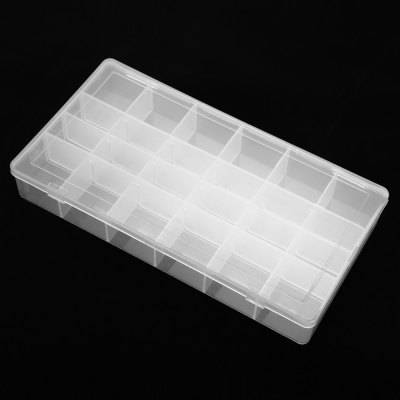 ELECALL 24 Grid Portable Storage Box CaseSoldering Supplies<br>ELECALL 24 Grid Portable Storage Box Case<br><br>Brand: ELECALL<br>Material: PP<br>Package Contents: 1 x ELECALL Storage Box<br>Package size (L x W x H): 25.00 x 15.00 x 6.00 cm / 9.84 x 5.91 x 2.36 inches<br>Package weight: 0.140 kg<br>Product size (L x W x H): 20.50 x 11.00 x 3.20 cm / 8.07 x 4.33 x 1.26 inches<br>Product weight: 0.108 kg<br>Special function: Storage Box