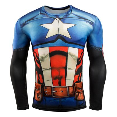 3D Print Classic Cartoon Figure Long Sleeves Tight Fit T-shirtWeight Lifting Clothes<br>3D Print Classic Cartoon Figure Long Sleeves Tight Fit T-shirt<br><br>Features: Breathable, High elasticity, Quick Dry<br>Gender: Men<br>Material: Spandex<br>Package Content: 1 x Men Tight T-shirt<br>Package size: 30.00 x 25.00 x 2.00 cm / 11.81 x 9.84 x 0.79 inches<br>Package weight: 0.250 kg<br>Product weight: 0.200 kg<br>Size: 2XL,3XL,L,M,XL<br>Types: Long Sleeves