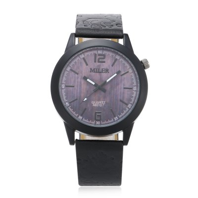 Original Miler 83127 Neutral Quartz Watch with Black BandUnisex Watches<br>Original Miler 83127 Neutral Quartz Watch with Black Band<br><br>Band material: Leather<br>Band size: 24 x 1.9cm / 9.45 x 0.75 inches<br>Brand: Miler<br>Case material: Alloy<br>Clasp type: Pin buckle<br>Dial size: 4 x 4 x 0.8cm / 1.57 x 1.57 x 0.31 inches<br>Display type: Analog<br>Movement type: Quartz watch<br>Package Contents: 1 x Miler 83127 Neutral Quartz Watch<br>Package size (L x W x H): 25.00 x 5.00 x 1.80 cm / 9.84 x 1.97 x 0.71 inches<br>Package weight: 0.0570 kg<br>People: Female table,Male table<br>Product size (L x W x H): 24.00 x 4.00 x 0.80 cm / 9.45 x 1.57 x 0.31 inches<br>Product weight: 0.0370 kg<br>Shape of the dial: Round<br>Watch style: Casual, Classic<br>Wearable length: 18 - 22cm / 7.09 - 8.66 inches
