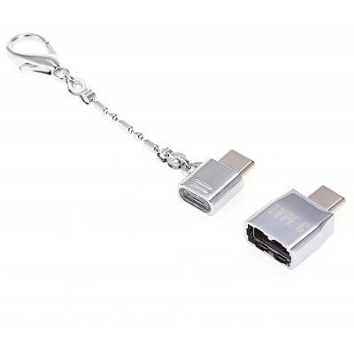 2-in-1 Type-C to USB 2.0 Micro USB Adapter Combo
