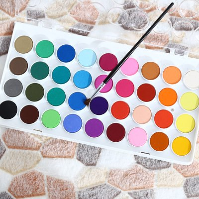 SIMBALION WCC - 36 36 in 1 Solid Watercolor Paints