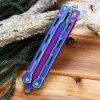 best Folding Safe Training Butterfly Knife with Dull Blade No Edge