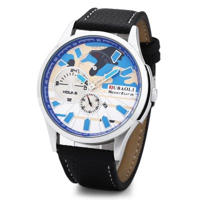 Jubaoli Men Quartz Watch Camouflage Dial