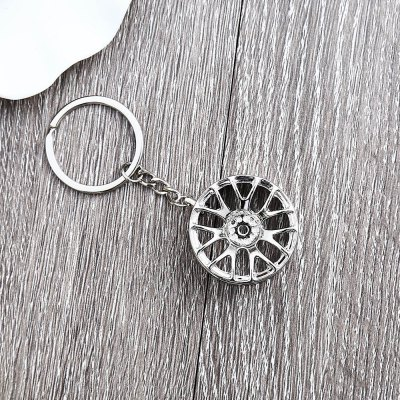 Wheel Hub Alloy Key Chain