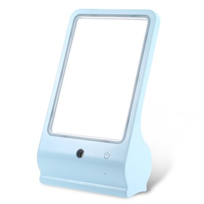 Multifunctional Makeup Mirror HumidifierHome Gadgets<br>Multifunctional Makeup Mirror Humidifier<br><br>Material: ABS,Glass<br>Color: Blue,Pink,White<br>Product weight: 0.392 kg<br>Package weight: 0.586 kg<br>Product size (L x W x H): 14.00 x 6.40 x 23.60 cm / 5.51 x 2.52 x 9.29 inches<br>Package size (L x W x H): 15.00 x 7.40 x 26.20 cm / 5.91 x 2.91 x 10.31 inches<br>Package Contents: 1 x Mirror, 1 x Measuring Bottle, 1 x USB Charging Cable, 1 x Chinese User Manual