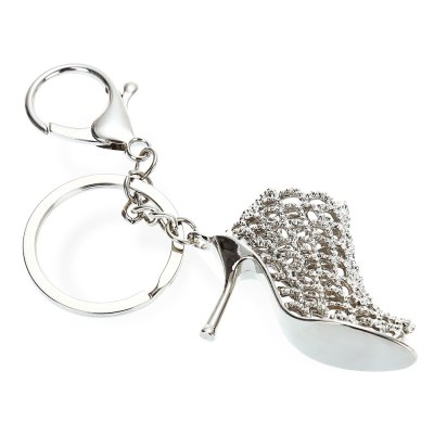 Alloy High Heel Shoe Key Chain Wallet Decor - 4.3 inchKey Chains<br>Alloy High Heel Shoe Key Chain Wallet Decor - 4.3 inch<br><br>Design Style: Fashion<br>Gender: Unisex<br>Materials: Alloy<br>Package Contents: 1 x Keyring<br>Package size: 7.00 x 4.50 x 3.00 cm / 2.76 x 1.77 x 1.18 inches<br>Package weight: 0.040 kg<br>Product size: 4.60 x 2.00 x 11.00 cm / 1.81 x 0.79 x 4.33 inches<br>Stem From: China<br>Theme: Other