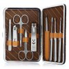 GS908 9 in 1 Manicure Set Pedicure Tool for Cutting / Cleaning
