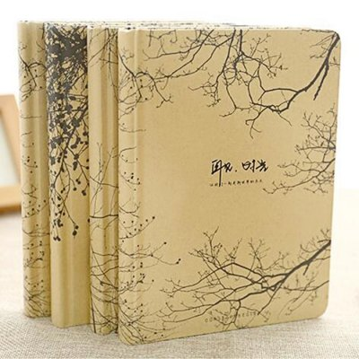 Retro Note Book A5 Stationery / Office Supplies