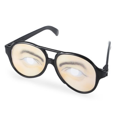 Glasses Style Trick Toy - 1pair