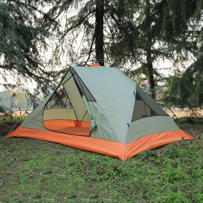 FLYTOP 2-person Camping TentTent<br>FLYTOP 2-person Camping Tent<br><br>Brand: FLYTOP<br>Color: Light Green<br>External Tent Material: PU, Polyester Fabric<br>Features: Waterproof, Double Layers, Breathable<br>Fits for: Double<br>Inner Tent Material: Breathable Mesh, Polyester<br>Package Content: 1 x FLYTOP Camping Tent, 6 x Peg, 1 x Storage Bag<br>Package size: 45.00 x 15.00 x 15.00 cm / 17.72 x 5.91 x 5.91 inches<br>Package weight: 2.430 kg<br>Product size: 210.00 x 140.00 x 115.00 cm / 82.68 x 55.12 x 45.28 inches<br>Product weight: 2.300 kg<br>Structure: Bilayer<br>Tent Bottom Material: PU, Oxford Fabric<br>Tent Pole Material: Aluminum Alloy<br>Type: Manual Tent