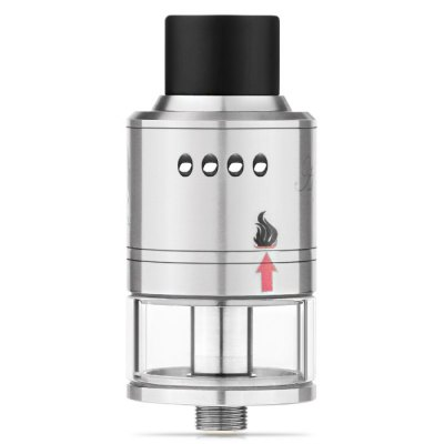 Original Apepal Unique RDTA AtomizerRebuildable Atomizers<br>Original Apepal Unique RDTA Atomizer<br><br>Available Color: Silver<br>Brand: Apepal<br>Coil Quantity: Single coil<br>Material: Stainless Steel, Glass<br>Model: Unique<br>Overall Diameter: 24mm<br>Package Contents: 1 x Apepal Unique RDTA Atomizer, 1 x Extra 510 Drip Tip, 1 x Screwdriver, 1 x Heating Wire, 3 x Screw, 4 x Insulated Ring<br>Package size (L x W x H): 9.50 x 7.50 x 4.00 cm / 3.74 x 2.95 x 1.57 inches<br>Package weight: 0.120 kg<br>Product size (L x W x H): 2.40 x 2.40 x 5.50 cm / 0.94 x 0.94 x 2.17 inches<br>Product weight: 0.054 kg<br>Rebuildable Atomizer: RBA,RDA,RTA<br>Tank Capacity: 4.0ml<br>Thread: 510<br>Type: Rebuildable Atomizer, Rebuildable Drippers, Rebuildable Tanks