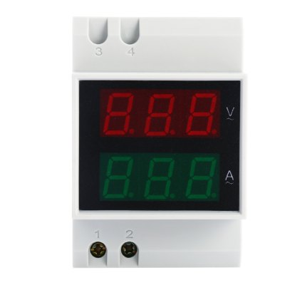 ELECALL D52 - 2042 AC Voltmeter Ammeter Power MeterOther Instruments<br>ELECALL D52 - 2042 AC Voltmeter Ammeter Power Meter<br><br>Brand: ELECALL<br>Material: Plastic<br>Model: D52 - 2042<br>Package Contents: 1 x ELECALL D52 - 2042 Voltmeter Ammeter, 1 x English and Chinese User Manual<br>Package size: 10.00 x 8.00 x 7.00 cm / 3.94 x 3.15 x 2.76 inches<br>Package weight: 0.180 kg<br>Primary functions: Voltmeter Ammeter Power Meter<br>Product size: 8.00 x 6.40 x 5.50 cm / 3.15 x 2.52 x 2.17 inches<br>Product weight: 0.122 kg<br>Scope of application: Education, Industrial<br>Type: Professional instruments