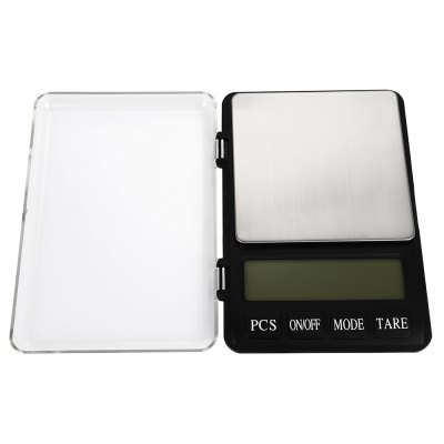 600g 3.5 inch LCD Digital Scale with 0.01g High AccuracyDigital Scales<br>600g 3.5 inch LCD Digital Scale with 0.01g High Accuracy<br><br>Material             : Others<br>Package Contents: 1 x Mini LCD Digital Jewelry Scale, 1 x English User Manual<br>Package size (L x W x H): 18.00 x 13.00 x 3.50 cm / 7.09 x 5.12 x 1.38 inches<br>Package weight: 0.3750 kg<br>Product size (L x W x H): 16.00 x 11.50 x 2.00 cm / 6.3 x 4.53 x 0.79 inches<br>Product weight: 0.3010 kg<br>Type: Digital Scale