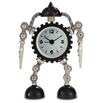 Shape-shifting Robot Gear Clock