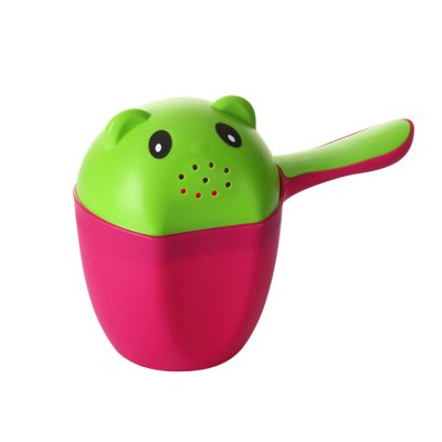 Baby Child Wash Hair Water Scoop Bath Nozzle Shampoo Rinse Cup