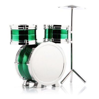 Mini Drum Set Quartz WatchPocket Watches<br>Mini Drum Set Quartz Watch<br><br>Available Color: Black,Green,Purple,Red<br>Case material: Stainless Steel<br>Movement type: Quartz watch<br>Package Contents: 1 x Mini Drum Set Quartz Watch, 1 x Box<br>Package size (L x W x H): 8.30 x 7.70 x 5.30 cm / 3.27 x 3.03 x 2.09 inches<br>Package weight: 0.206 kg<br>Product size (L x W x H): 8.00 x 7.30 x 2.80 cm / 3.15 x 2.87 x 1.1 inches<br>Product weight: 0.154 kg<br>Watch style: Fashion<br>Watches categories: Unisex table