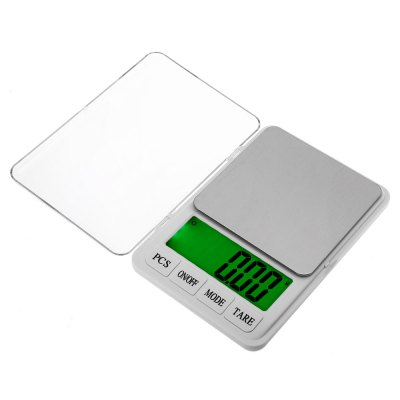MH - 887 Precise 600g Digital ScaleDigital Scales<br>MH - 887 Precise 600g Digital Scale<br><br>Material             : ABS, Others<br>Model: MH - 887<br>Package Contents: 1 x Digital Scale ( with Battery ), 1 x English and Chinese User Manual<br>Package size (L x W x H): 26.50 x 19.00 x 8.00 cm / 10.43 x 7.48 x 3.15 inches<br>Package weight: 0.7300 kg<br>Product size (L x W x H): 21.50 x 14.50 x 2.60 cm / 8.46 x 5.71 x 1.02 inches<br>Product weight: 0.5560 kg<br>Type: Digital Scale
