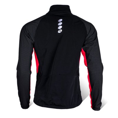 NUCKILY MI004 Cycling CoatCycling Clothings<br>NUCKILY MI004 Cycling Coat<br><br>Brand: NUCKILY<br>Feature: Windproof, Keep Warm, High elasticity, Breathable<br>Material: Spandex, Polyester<br>Package Contents: 1 x NUCKILY MI004 Cycling Coat<br>Package size (L x W x H): 16.00 x 16.00 x 6.00 cm / 6.3 x 6.3 x 2.36 inches<br>Package weight: 0.6170 kg<br>Product weight: 0.2000 kg<br>Size: L,M,XL,XXL<br>Suitable Crowds: Men<br>Type: Long Sleeve Tops