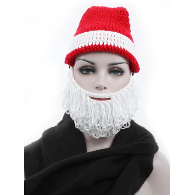 Adult Christmas Santa Claus Hand Knitted HatWomens Hats<br>Adult Christmas Santa Claus Hand Knitted Hat<br><br>Group: Adult<br>Hat Type: Knitted Hat<br>Material: Cotton<br>Package Content: 1 x Hat<br>Package Dimension: 31.00 x 30.00 x 33.00 cm / 12.2 x 11.81 x 12.99 inches<br>Package weight: 0.180 kg<br>Product weight: 0.120 kg<br>Style: Novelty