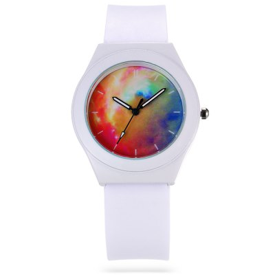 Fashion Unisex Quartz WatchUnisex Watches<br>Fashion Unisex Quartz Watch<br><br>Band material: Rubber<br>Band size: 24.5 x 1.9 cm / 9.65 x 0.75 inches<br>Case material: Alloy<br>Clasp type: Pin buckle<br>Dial size: 3.7 x 3.7 x 0.9 cm / 1.46 x 1.46 x 0.35 inches<br>Display type: Analog<br>Movement type: Quartz watch<br>Package Contents: 1 x Fashion Unisex Quartz Watch<br>Package size (L x W x H): 25.50 x 4.70 x 1.90 cm / 10.04 x 1.85 x 0.75 inches<br>Package weight: 0.080 kg<br>People: Female table,Male table<br>Product size (L x W x H): 24.50 x 3.70 x 0.90 cm / 9.65 x 1.46 x 0.35 inches<br>Product weight: 0.042 kg<br>Shape of the dial: Round<br>Watch style: Fashion<br>Wearable length: 16.8 - 22.6 cm / 6.61 - 8.90 inches