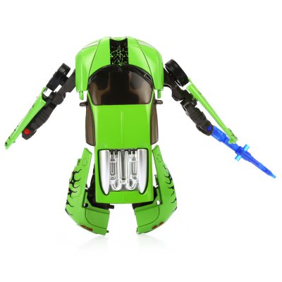 Transformable Transform 3D Hero Style Robot Vehicle