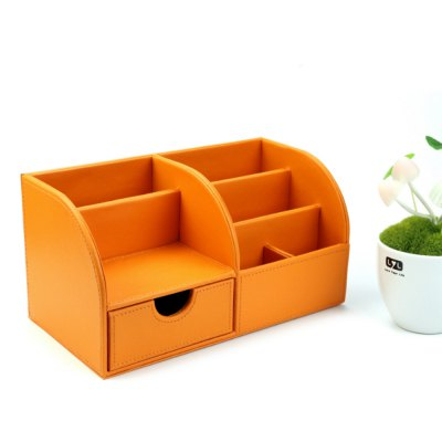 PU Document Tray Storage Box File BasketDesk Organizers<br>PU Document Tray Storage Box File Basket<br><br>Features: Multilevel<br>Product weight: 0.860 kg<br>Package weight: 0.920 kg<br>Product size (L x W x H): 28.00 x 14.50 x 14.50 cm / 11.02 x 5.71 x 5.71 inches<br>Package size (L x W x H): 29.00 x 15.50 x 15.50 cm / 11.42 x 6.1 x 6.1 inches<br>Package Contents: 1 x PU Document Tray