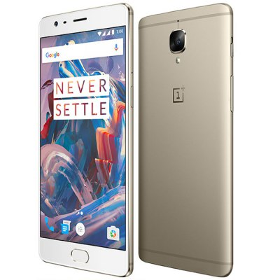 OnePlus 3T 4G PhabletCell phones<br>OnePlus 3T 4G Phablet<br><br>2G: GSM 850/900/1800/1900MHz<br>3G: WCDMA B1/B2/B5/B8<br>4G: FDD-LTE B1/B3/B5/B7/B8<br>Additional Features: NFC, Calculator, Browser, Bluetooth, Alarm, 4G, 3G, Calendar, Fingerprint recognition, Wi-Fi, People, MP4, MP3, Light Sensing, GPS, Fingerprint Unlocking<br>Aperture: f/2.0<br>Auto Focus: Yes<br>Back-camera: 16MP 1.12 µm with flash light and AF<br>Battery Capacity (mAh): 3400mAh<br>Battery Type: Non-removable<br>Bluetooth Version: Bluetooth V4.2<br>Brand: ONEPLUS<br>Camera Feature: HQ,  Manual Control,  Dynamic Denoise, Auto-HDR<br>Camera Functions: Panorama Shot, Anti Shake, HDR<br>Camera type: Dual cameras (one front one back)<br>CDMA: CDMA EVDO?BC0<br>Cell Phone: 1<br>Cores: 1.6GHz, Quad Core, 2.35GHz<br>CPU: Qualcomm Snapdragon 821<br>E-book format: TXT<br>External Memory: Not Supported<br>Flashlight: Yes<br>Front camera: 16MP 1.0 µm<br>Games: Android APK<br>Google Play Store: Yes<br>GPU: Adreno 530<br>I/O Interface: Type-C, 3.5mm Audio Out Port, 2 x Nano SIM Slot<br>Language: Malay, Catalan, Czech, Danish, German, English, Spanish, Filipino, French, Croatian, Italian, Hungarian, Dutch, Norwegian Bokmal, Polish, Portuguese, Romanian, Slovak, Slovenian, Finnish, Swedish, Vie<br>Music format: OGG, MP3, WAV, AAC<br>Network type: GSM+CDMA+WCDMA+TD-SCDMA+FDD-LTE+TDD-LTE<br>OS: OxygenOS<br>Package size: 18.90 x 10.60 x 6.50 cm / 7.44 x 4.17 x 2.56 inches<br>Package weight: 0.4800 kg<br>Picture format: BMP, GIF, JPEG, PNG<br>Pixels Per Inch (PPI): 401<br>Power Adapter: 1<br>Product size: 15.27 x 7.47 x 0.74 cm / 6.01 x 2.94 x 0.29 inches<br>Product weight: 0.1580 kg<br>RAM: 6GB RAM<br>ROM: 64GB<br>Screen resolution: 1920 x 1080 (FHD)<br>Screen size: 5.5 inch<br>Screen type: Corning Gorilla Glass<br>Sensor: Accelerometer,E-Compass,Gravity Sensor,Gyroscope,Hall Sensor,Proximity Sensor<br>Service Provider: Unlocked<br>SIM Card Slot: Dual SIM, Dual Standby<br>SIM Card Type: Dual Nano SIM<br>SIM Needle: 1<br>TD-SCDMA: TD-SCDMA B34/B39<br>TDD/TD-LTE: TD-LTE B38/B39/B40/41<br>Touch Focus: Yes<br>Type: 4G Phablet<br>USB Cable: 1<br>Video format: AMV, AVI, FLV, MP4, 3GP<br>Video recording: Yes<br>WIFI: 802.11a/b/g/n/ac wireless internet<br>Wireless Connectivity: A-GPS, Bluetooth, 4G, 3G, GSM, WiFi, GPS