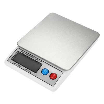 MH - 666 Precise 6000g Digital Kitchen ScaleDigital Scales<br>MH - 666 Precise 6000g Digital Kitchen Scale<br><br>Material             : Others, ABS<br>Model: MH - 666<br>Package Contents: 1 x Digital Kitchen Scale ( with Battery ), 1 x Tray, 1 x English and Chinese User Manual<br>Package size (L x W x H): 20.00 x 16.00 x 5.00 cm / 7.87 x 6.3 x 1.97 inches<br>Package weight: 0.6500 kg<br>Product size (L x W x H): 17.30 x 13.00 x 2.50 cm / 6.81 x 5.12 x 0.98 inches<br>Product weight: 0.4500 kg<br>Type: Kitchen Scale, Digital Scale