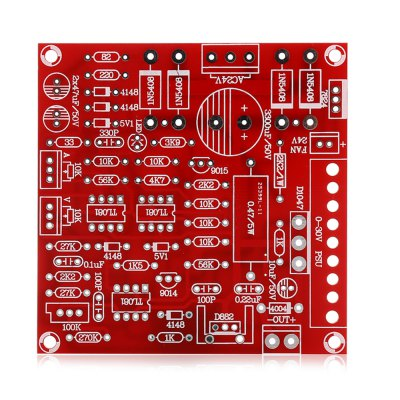 Adjustable DC Regulated Power Supply Board KitKits<br>Adjustable DC Regulated Power Supply Board Kit<br><br>Package Contents: 1 x DC Regulated Power Supply Board Kit<br>Package Size(L x W x H): 16.00 x 12.00 x 4.00 cm / 6.3 x 4.72 x 1.57 inches<br>Package weight: 0.110 kg<br>Product weight: 0.085 kg<br>Suitable for: Arduino