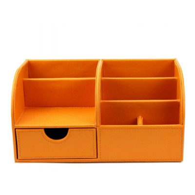 PU Document Tray Storage Box File Basket