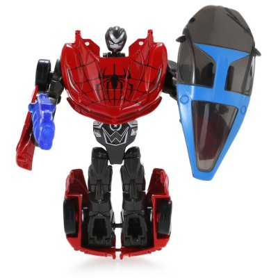 Transformable Transform 3D Hero Style Robot Car