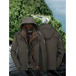 cheap Jeep Rich Outdoor Cotton Zipper Front Hooded Jacket
