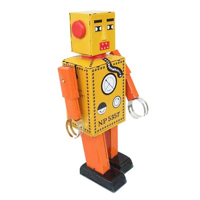 Walking Robot Tin Vintage Mechanical Kid GiftClassic Toys<br>Walking Robot Tin Vintage Mechanical Kid Gift<br><br>Nature: Robot<br>Materials: Metal<br>Appliable Crowd: Unisex<br>Specification: Chinese<br>Product weight: 0.169 kg<br>Package weight: 0.180 kg<br>Product size: 10.00 x 7.00 x 16.00 cm / 3.94 x 2.76 x 6.3 inches<br>Package size: 12.00 x 8.00 x 18.00 cm / 4.72 x 3.15 x 7.09 inches<br>Package Contents: 1 x Tin Toy