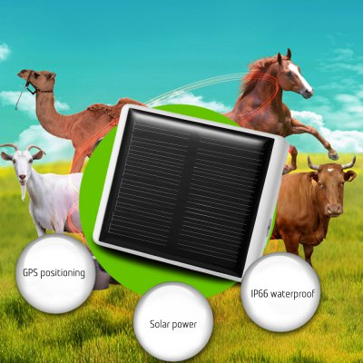 Solar Panel Powered GPS Tracker for Farm Animals / Pets