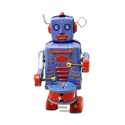 Walking Tin Wind-up Robot Retro Present