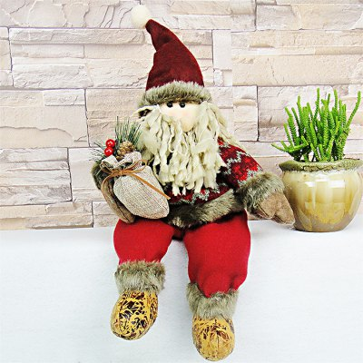 Lovely Soft Christmas Theme Figure Plush Toy - 15.7 inch