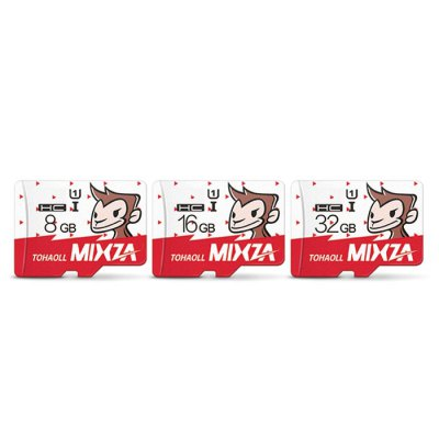 MIXZA TOHAOLL SDXC Micro SD Memory CardMemory Cards<br>MIXZA TOHAOLL SDXC Micro SD Memory Card<br><br>Brand: MIXZA<br>Memory Card Type: Micro SD/TF<br>Package Contents: 1 x MIXZA TOHAOLL SDXC Micro SD Memory Card<br>Package size (L x W x H): 13.00 x 10.00 x 0.40 cm / 5.12 x 3.94 x 0.16 inches<br>Package weight: 0.0490 kg<br>Product size (L x W x H): 1.50 x 1.10 x 0.30 cm / 0.59 x 0.43 x 0.12 inches<br>Product weight: 0.0030 kg<br>Support 4K Video Recording: No<br>Type: Memory Card<br>UHS Speed Class: C10