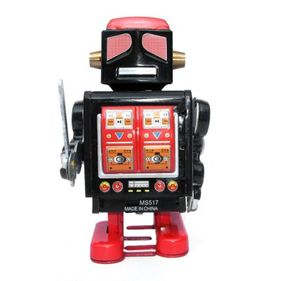 Walking Mechanical Robot Tin Retro Vintage Kid GiftClassic Toys<br>Walking Mechanical Robot Tin Retro Vintage Kid Gift<br><br>Appliable Crowd: Unisex<br>Materials: Metal<br>Nature: Robot<br>Package Contents: 1 x Tin Toy<br>Package size: 8.00 x 10.00 x 15.00 cm / 3.15 x 3.94 x 5.91 inches<br>Package weight: 0.160 kg<br>Product size: 7.00 x 8.00 x 14.00 cm / 2.76 x 3.15 x 5.51 inches<br>Product weight: 0.153 kg<br>Specification: Chinese