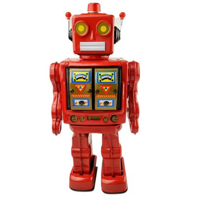 Walking Robot Tin Retro Mechanical Kid GiftClassic Toys<br>Walking Robot Tin Retro Mechanical Kid Gift<br><br>Appliable Crowd: Unisex<br>Materials: Metal<br>Nature: Robot<br>Package Contents: 1 x Tin Toy<br>Package size: 38.00 x 15.00 x 10.50 cm / 14.96 x 5.91 x 4.13 inches<br>Package weight: 0.850 kg<br>Product size: 35.00 x 14.00 x 10.00 cm / 13.78 x 5.51 x 3.94 inches<br>Product weight: 0.814 kg<br>Specification: Chinese