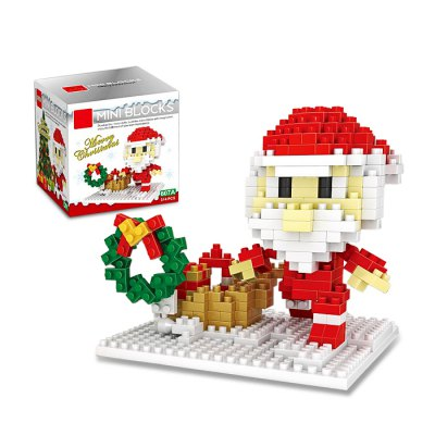 Christmas Series Santa Claus Building Block Model