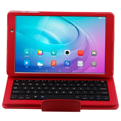 FDR - A03L Protective Bluetooth Keyboard Case for Huawei MediaPad M2