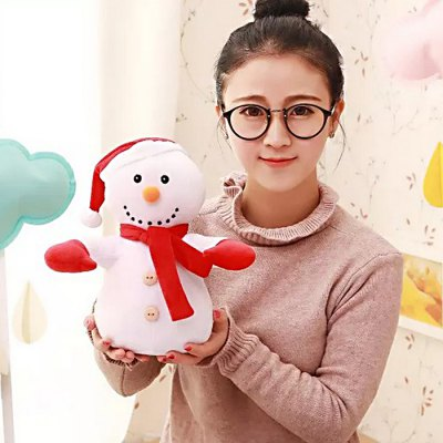 11.8 inch Lovely Soft Christmas Santa Clause Plush Toy
